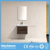 Module de salle de bains populaire de mélamine de modèle avec deux tiroirs