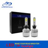 Bulbo do farol do diodo emissor de luz dos faróis do diodo emissor de luz da ESPIGA H1 H4 H7 9006 da microplaqueta do poder superior S2 36W 8000lm EUA Bridgelux