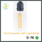 Bulbos de Edison da lâmpada do diodo emissor de luz do certificado do UL Listed/Ce de Stoele T15