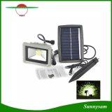 防水太陽動力を与えられた3W LEDの太陽洪水ライト屋外のホームヤードの庭の芝生の点ランプのスポットライト