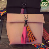 Saco de ombro simples novo da senhora Encantador com o saco Sy8147 da cinta da cor e do Tassel de embreagem