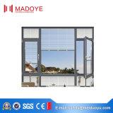 Finestra di alluminio della rottura termica di vetro Tempered per la camera da letto
