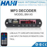 Tarjeta del decodificador de la C.C. Bluetooth MP3 de Digitaces para la radio de FM