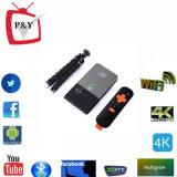 Projetor Pocket portátil 2.4G WiFi do Android 4.4 Rk3128 1g/8g do projetor do diodo emissor de luz C2 da caixa da tevê do C2 Kodi mini