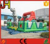工場価格販売のためのジュラ紀公園の主題の膨脹可能なスライド