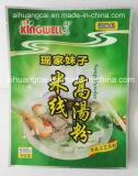 Seitliche Dichtungs-Plastiktiermedizin-Beutel-Nahrungsmittelbeutel