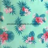 tela de la impresión de la flor de 80%Nylon 20%Spandex para el bikiní