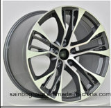 bordas pretas da roda da liga do carro da face de 20X10 20X11 CB74.1 Machnie para BMW