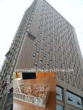 石造りの穀物PVDFは25mmのアルミニウム蜜蜂の巣の外壁のクラッディングパネルAhpに塗った