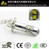 phare automatique de lampe de regain de la lumière DEL de véhicule de 30W DEL avec le faisceau léger de Xbd de CREE du plot H16