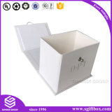 Auriculares de empacotamento Foldable dos Earplugs do microfone da caixa de papel
