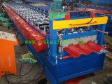 Cubierta de suelo de acero de 720 colores que hace la máquina con la ISO del Ce