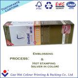 Rectángulo de papel de embalaje de la alta calidad