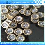Disco del filtro dall'acciaio inossidabile con il bordo