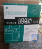 Luz Emergency con el enchufe 220V