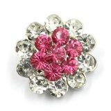 кнопка кнопки давления камней сплава металла 30mm кристаллический