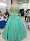 Aoliweiya Wholesale Personalizar Aqua Evening Prom Dress