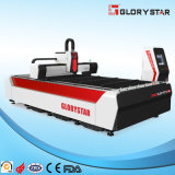 Cortadora del laser de la fibra de Glorystar para la industria de transformación del metal