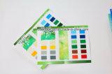 Carte de couleur de peinture au plancher plié