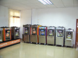 ステンレス鋼のフローズンヨーグルトの販売のための商業ソフトクリームメーカー機械