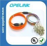 Cordon de connexion optique de fibre pour CATV et réseau local