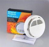 Alarma de incendio fotoeléctrica sin hilos convencional del humo de 10 años con la batería