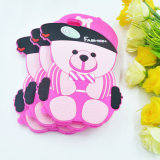 3D Cartoon Soft Hat Bear Silicone Phone Fall für iPhone 6 6plus 7 7plus (XSDW-107)