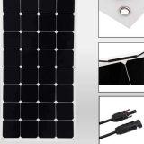2X 100W 12Vの適用範囲が広い太陽電池パネルの太陽電池キャンプ力モノラル充満