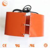 Orange elektrisches Trommel-Heizungs-Band mit Sprüngen