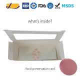 Tarjeta antiescarcha limpia y tarjeta de la conservación de alimentos de la seguridad