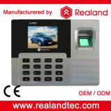 Realand de impressão digital e RFID cartão de tempo Produtos atendimento com Software Livre