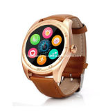 K89 Niedriges-Power Dissipation Chipset Mtk2502c 1.22inch IPS Round Capacitive BT Watch mit Statical Dynamical Heart Rate Monitor