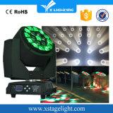 LED 19pcsx15Wのズームレンズが付いている大きい蜂の目の移動ヘッドライト