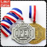 Medalla Deporte buena personalizados de calidad con la cinta