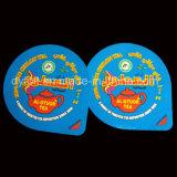 Горячие продавая Caddy любимчика/контейнер/чашка уплотнений алюминиевой фольги верхних для чая Цейлона