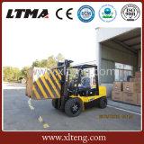 Машинное оборудование пакгауза материальное вручая платформа грузоподъемника дизеля 4 тонн