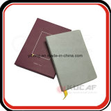 Het Notitieboekje van Moleskine van de Dekking van /Cloth van de Stof van de Verpakking van de Doos van de Gift van de bevordering