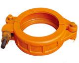 Couplage de bride de pipe de pompe concrète des garnitures de pipe de construction de Constriuction Dn125