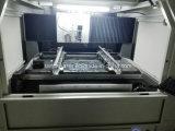 отрезок лазера волокна высокой точности 50W100W трафаретит машину с охлаждением на воздухе