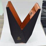 Boîte-cadeau de papier professionnelle de premier niveau grande pour le vin rouge