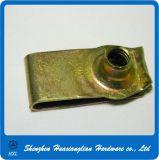 Noix de clip galvanisées par fabrication de l'acier M4 M5 M6 U de dispositifs de fixation de la Chine