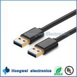 남성 접합기 USB 케이블 유형에 고속 두 배 USB 3.0 남성