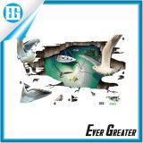 고품질 주문 내유성 전사술 3D 벽 스티커