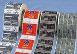 Het vrije Etiket van de Fles van de Sticker van het Ontwerp Transparante Duidelijke Plastic