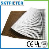 Pintar filtros de papel plissados filtro do batente