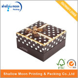 Caixa de empacotamento do chocolate de papel da parte alta com fita (AZ122809)