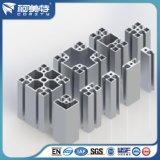 Perfil de alumínio industrial anodizado de prata personalizado para a indústria da maquinaria