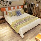 최신 현대 단단한 나무 침대 침실 가구 (CH-625)
