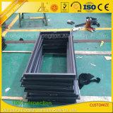 Blocco per grafici di alluminio rivestito della polvere di Customzied per la finestra di vetro ed il portello