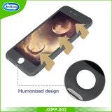 高品質360度のiPhone 7plusのための自由な緩和されたガラスのパソコンカバーが付いている完全な保護細く堅いパソコンの携帯電話の箱